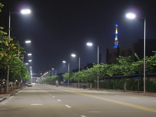 Street Lighting With LED