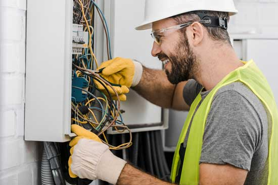 Electricians for professional